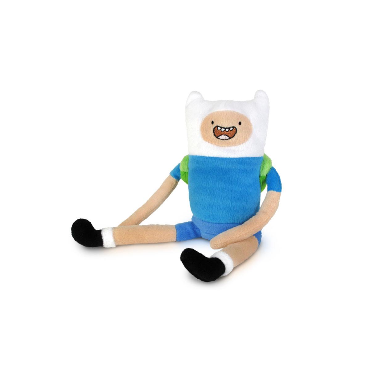 Мягкая игрушка Adventure Time Финн, 28 см14221Очаровательная мягкая игрушка Adventure Time Финн вызовет умиление и улыбку у каждого, кто ее увидит. Игрушка выполнена из мягкого плюша в виде Финна - одного из главных персонажей в мультсериале Время приключений. Финн - главный герой сериала, один из нескольких людей в Землях Ууу. Он был найден родителями Джейка в младенческом возрасте в лесу. Он носит голубую футболку, синие шорты, белые носки с черными ботинками и белую шлемовидную шапку. Из снаряжения берет с собой зеленый рюкзак. Финн считает себя героем, и из этого определения исходят все его поступки. Он добр и чувствителен, хотя с врагами может быть жестоким и злым. Финн любит драки, но не способен причинять вред невинным. Великолепное качество исполнения делают эту игрушку чудесным подарком к любому празднику.