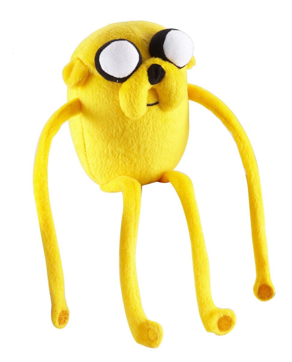 Мягкая игрушка Adventure Time Джейк, 30 см14222Очаровательная мягкая игрушка Adventure Time Джейк вызовет умиление и улыбку у каждого, кто ее увидит. Игрушка выполнена из мягкого плюша с липучками на лапах в виде Джейка - одного из персонажей в мультсериале Время приключений. Джейк - мутировавший волшебный пес, лучший друг Финна и его сводный брат. Выглядит как золотистый мопс с большими глазами. Он носит невидимые штаны из паутины, сотканные феями. Джейк умеет растягиваться и управлять своим телом, заставляя его принимать любую форму. Свои магические способности, по словам Джейка, он получил, извалявшись в волшебной луже. Также обладает тонким обонянием и способен учуять предметы на расстоянии в несколько миль. Способен претворять свои фантазии в реальность, но видеть воплотившееся может только он. Великолепное качество исполнения делают эту игрушку чудесным подарком к любому празднику.