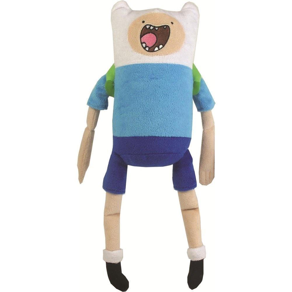Мягкая озвученная игрушка Adventure Time Финн, 34 см14351Очаровательная мягкая игрушка Adventure Time Финн вызовет умиление и улыбку у каждого, кто ее увидит. Игрушка выполнена из мягкого плюша в виде Финна - одного из главных персонажей в мультсериале Время приключений. На туловище Финна находится кольцо. Если за него потянуть, то он произносит четыре различные фразы из мультфильма. Финн - главный герой сериала, один из нескольких людей в Землях Ууу. Он был найден родителями Джейка в младенческом возрасте в лесу. Он носит голубую футболку, синие шорты, белые носки с черными ботинками и белую шлемовидную шапку. Из снаряжения берет с собой зеленый рюкзак. Финн считает себя героем, и из этого определения исходят все его поступки. Он добр и чувствителен, хотя с врагами может быть жестоким и злым. Финн любит драки, но не способен причинять вред невинным. Великолепное качество исполнения делают эту игрушку чудесным подарком к любому празднику.
