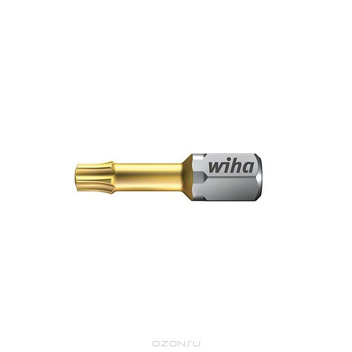 Биты TiN Torsion 7015SB T25x25, 2 шт Wiha 3475034750Вязкотвердый бит TiN Torsion с очень твердым покрытием из нитрида титана, увеличивающее износостойкость бита. Бит TiN Torsion объединяет в себе преимущества битов Wiha HOT и ZOT Размер: T25;