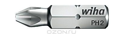 Биты INOX 7011SB PH3x25, 2 шт Wiha 3448534485Черезвычайно устойчивая к нагрузкам, коррозии и кислотам, устойчивая против атмосферных влияний, ее легко обрабатывать, гигиеническая и не требующая ухода. Идеально подходит для закручивания винтов из высококачественной стали Размер: PH3;