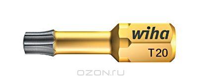 Биты DuraBit 7015SB T15x25 Wiha 3386033860Вязкотвердый бит DuraBit Torsion имеет чрезвычайно стойкое к износу твердосплавное покрытие из карбида вольфрама, благодаря чему бит надежно фиксируется в головке винта, что увеличивает срок службы, значительно уменьшает эффект самовыталкивания Размер: T