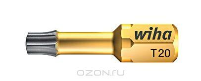 Биты DuraBit 7015SB T10x25 Wiha 3385933859Вязкотвердый бит DuraBit Torsion имеет чрезвычайно стойкое к износу твердосплавное покрытие из карбида вольфрама, благодаря чему бит надежно фиксируется в головке винта, что увеличивает срок службы, значительно уменьшает эффект самовыталкивания Размер: T