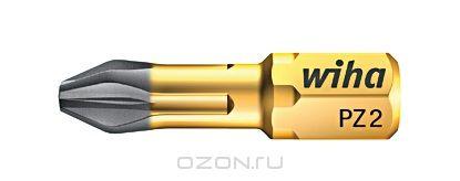 Биты DuraBit 7012SB PZ3x25, 2 шт Wiha 3385833858Вязкотвердый бит DuraBit Torsion имеет чрезвычайно стойкое к износу твердосплавное покрытие из карбида вольфрама, благодаря чему бит надежно фиксируется в головке винта, что увеличивает срок службы, значительно уменьшает эффект самовыталкивания Размер: P
