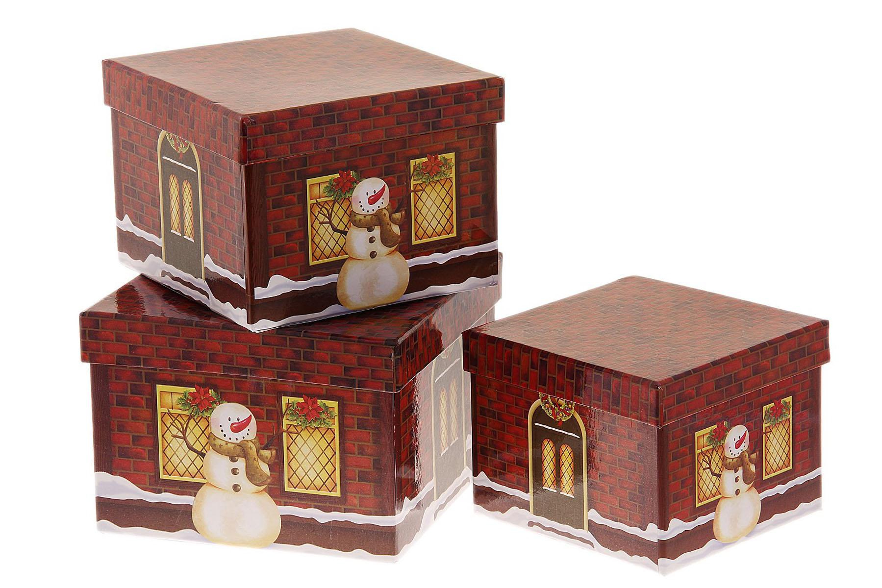Новогодняя упаковка для подарков 90