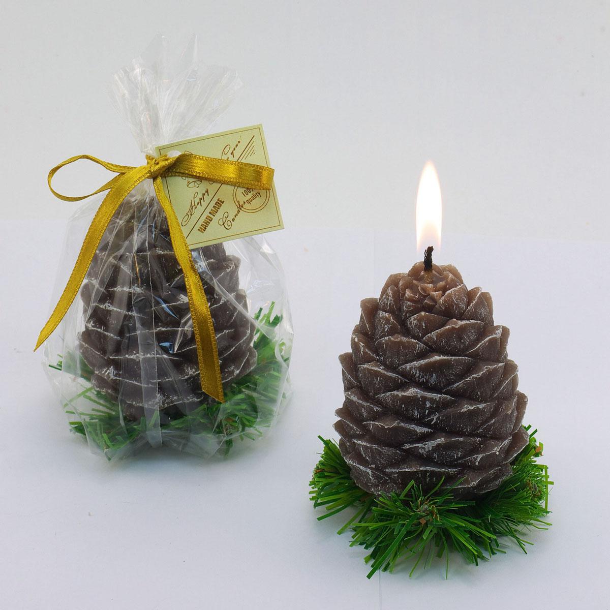 Свеча декоративная Sima-land Шишка на елке