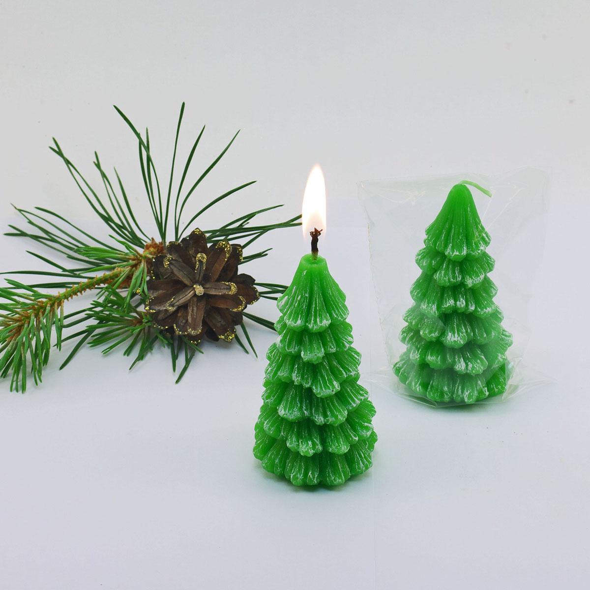 Декоративная свеча Елочка 773752773752Декоративная свеча Елочка 773752 Материал: Парафин