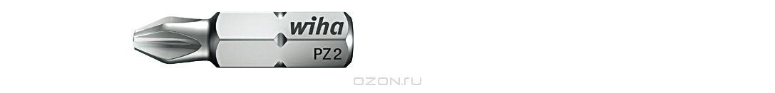 Биты Standard 7012SB PZ3x25, 10 шт Wiha 3207132071Прочные и мощные биты - универсалы для домашних, ремесленных или промышленных нужд. Благодаря параметрам твердости 59 - 61 HRC оптимальны для закручивания как вручную, так и с помощью электроинструмента Размер: PZ3;