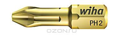 Биты HOT Torsion 7011SB PH3x25, 10 шт Wiha 3206232062Сверхтвердый 63-2 HRC бит HOT Torsion особенно подходит для закручивания в древесину и мягкие материалы. Средние показатели эластичности значительно увеличивают производительность и износостойкость Размер: PH3;