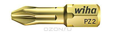 Биты HOT Torsion 7012SB PZ2x25, 10 шт Wiha 3205832058Сверхтвердый 63-2 HRC бит HOT Torsion особенно подходит для закручивания в древесину и мягкие материалы. Средние показатели эластичности значительно увеличивают производительность и износостойкость Размер: PZ2;