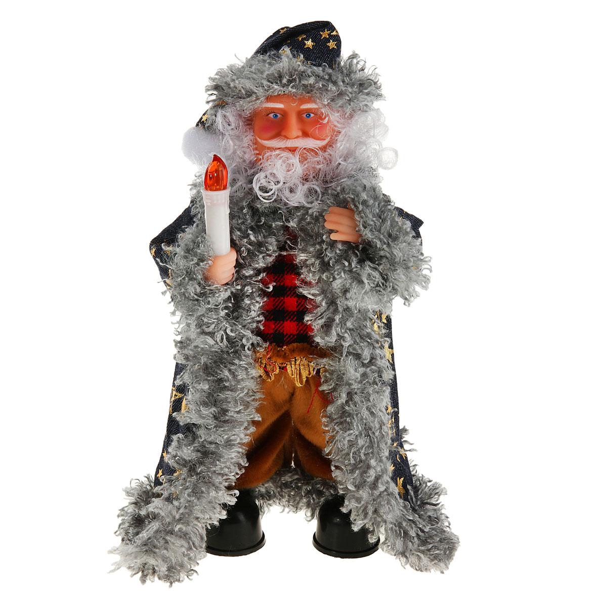 """Новогодняя декоративная фигурка Sima-land """"Дед Мороз"""", анимированная, высота 27 см. 827833"""