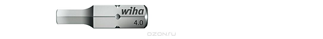 Биты Standard 7013SB SW4,0x25, 2 шт Wiha 2568125681Прочные и мощные биты - универсалы для домашних, ремесленных или промышленных нужд. Благодаря параметрам твердости 59 - 61 HRC оптимальны для закручивания как вручную, так и с помощью электроинструмента Размер: SW 4,0mm;