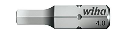 Биты Standard 7013SB SW4,0x25 5,0x25 6,0x25, 3 ед Wiha 0786607866Прочные и мощные биты - универсалы для домашних, ремесленных или промышленных нужд. Благодаря параметрам твердости 59 - 61 HRC оптимальны для закручивания как вручную, так и с помощью электроинструмента Размер: SW 4,0mm; SW 5,0mm; SW 6,0mm;