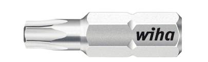 Биты Standard 7015SB T7x25 T8x25 T9x25, 3 ед Wiha 0787007870Прочные и мощные биты - универсалы для домашних, ремесленных или промышленных нужд. Благодаря параметрам твердости 59 - 61 HRC оптимальны для закручивания как вручную, так и с помощью электроинструмента Размер: T7; T8; T9;
