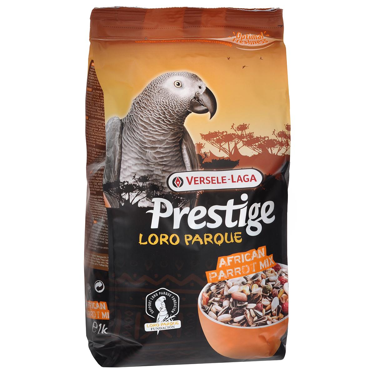 "Versele-Laga Корм для крупных попугаев Versele-Lago ""African Parrot Loro Parque Mix"", 1 кг 421920"
