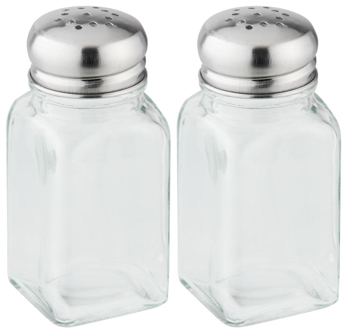 Набор диспенсеров для соли, перца, 9,5см46870Предназначен для сервировки стола и хранения специй