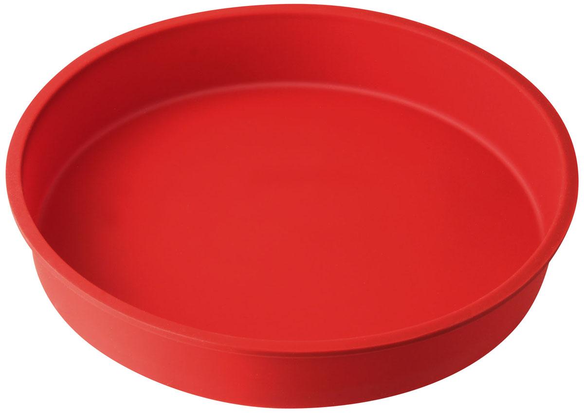Форма для выпечки Dr.Oetker Flexxibel, круглая, цвет: красный, диаметр 27 см1252Круглая форма Dr.Oetker Flexxibel будет отличным выбором для всех любителей выпечки. Благодаря тому, что форма изготовлена из силикона, готовую выпечку вынимать легко и просто. Форма прекрасно подходит для выпечки различных десертов. С такой формой вы всегда сможете порадовать своих близких оригинальной выпечкой. Материал изделия устойчив к фруктовым кислотам, может быть использован в духовках, микроволновых печах, холодильниках и морозильных камерах (выдерживает температуру от -25°C до 250°C). Антипригарные свойства материала позволяют готовить без использования масла. Можно мыть и сушить в посудомоечной машине. При работе с формой используйте кухонный инструмент из силикона - кисти, лопатки, скребки. Не ставьте форму на электрическую конфорку. Не разрезайте выпечку прямо в форме.
