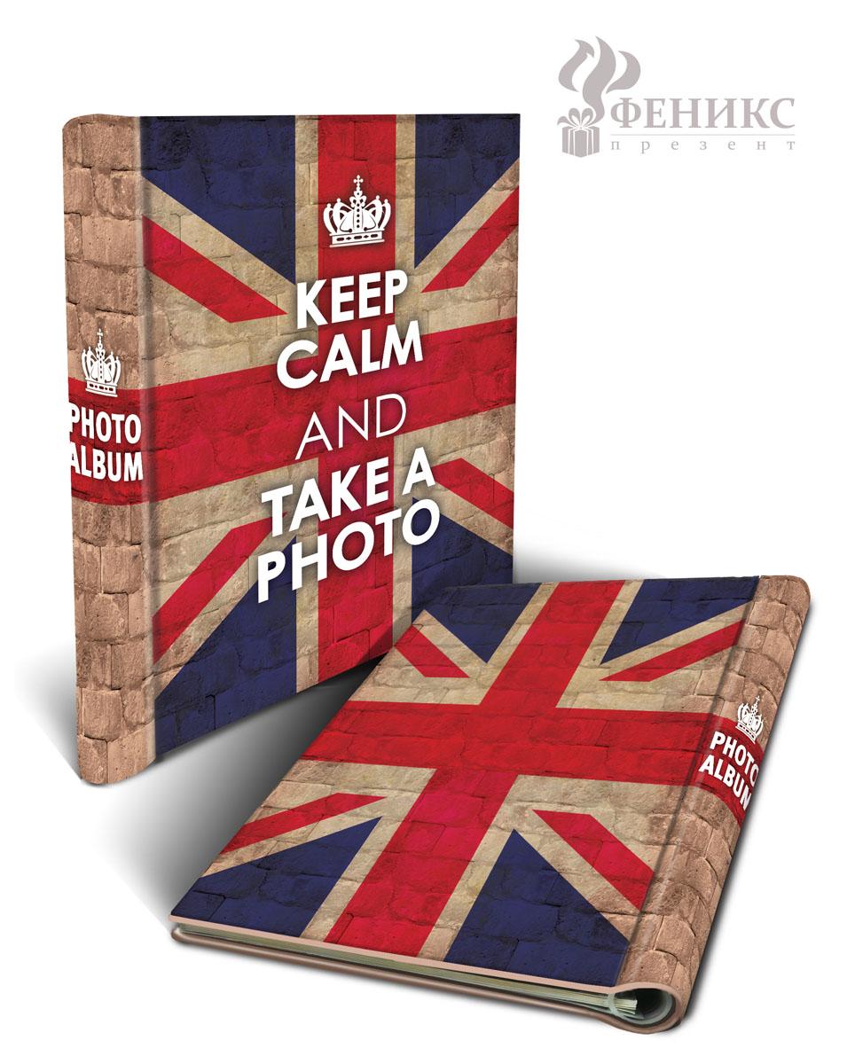 """Фотоальбом """"Великобритания"""", на кольцах, 10 магнитных листов, 22,5 см х 28 см"""