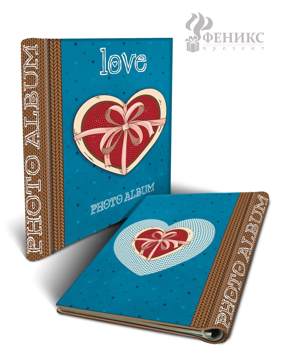 Фотоальбом Любовь, на кольцах, 10 магнитных листов, 22,5 х 28 см36545