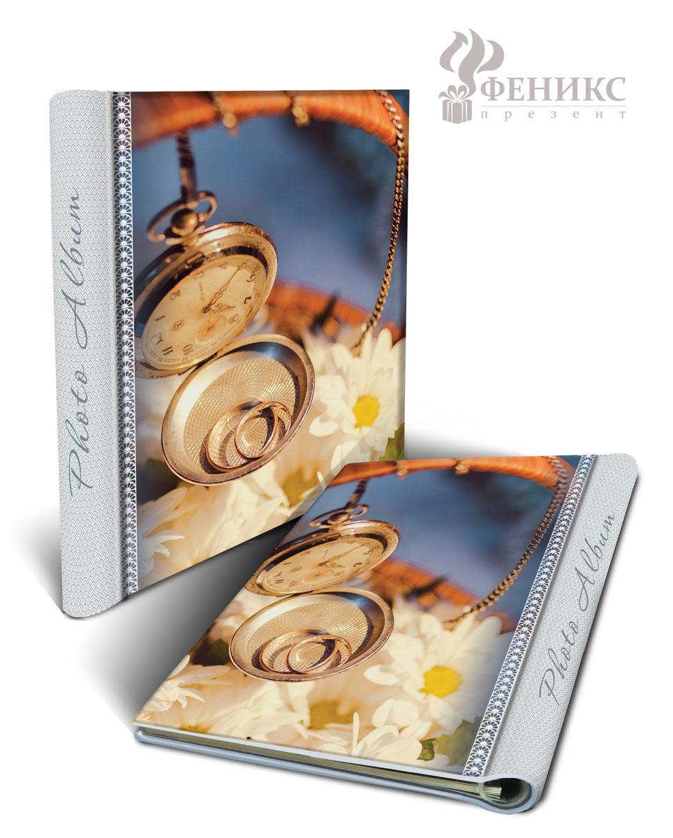 Фотоальбом Часы, на кольцах, 10 магнитных листов, 22,5 см х 28 см36546