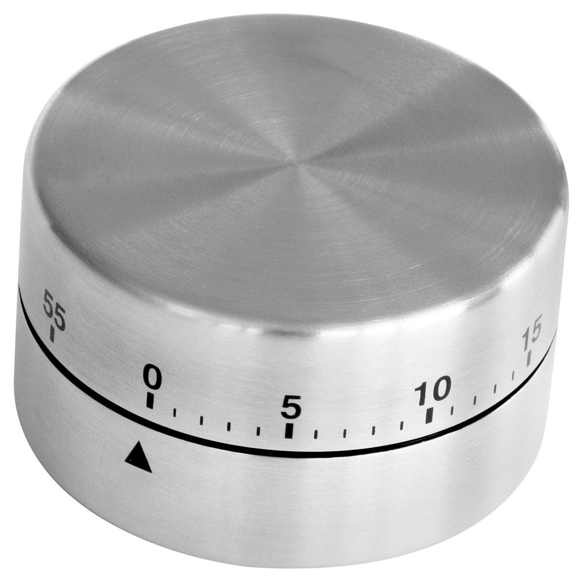 Таймер цилиндрический Zenker, на 60 минут41936Таймер кухонный Zenker изготовлен из нержавеющей стали. Максимальное время, на которое вы можете поставить таймер, составляет 60 минут. После того, как время истечет, таймер громко зазвенит. Оригинальный дизайн таймера украсит интерьер любой современной кухни, и теперь вы сможете без труда вскипятить молоко, отварить пельмени или вовремя вынуть из духовки аппетитный пирог. Диаметр таймера: 6 см. Высота корпуса: 4 см.