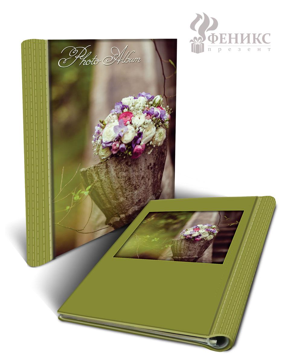 Фотоальбом Свадебный букет, на кольцах, 20 магнитных листов, 22,5 см х 28 см36551