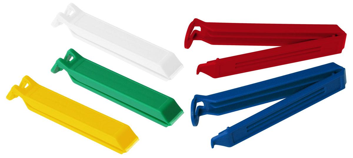 Набор зажимов для пакетов Fackelmann Tecno, 5 шт, длина 7,5 см59918Набор зажимов для пакетов Fackelmann Tecno выполнены из прочного пластика. С этим замечательным приспособлением вы дольше сохраните свежесть продуктов, которые хранятся в пакетах. Кроме того, вы можете не пересыпать содержимое из пакетов в емкости для сыпучих продуктов, просто закройте пакет зажимом. Зажимы для пакетов Fackelmann Tecno непременно станут незаменимыми помощниками на вашей кухне.