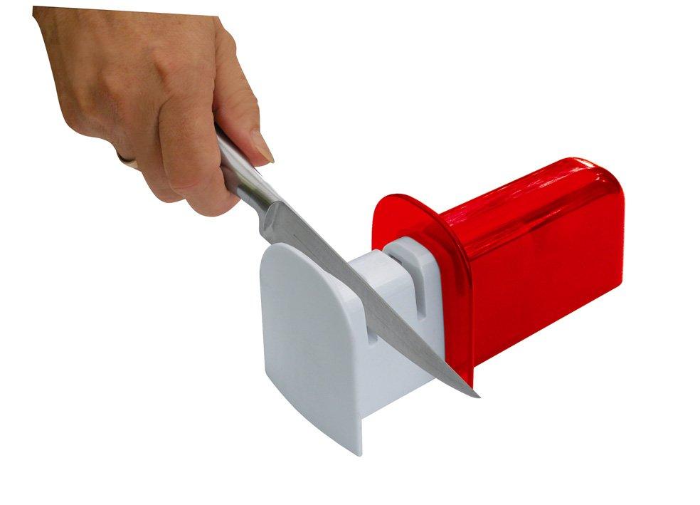 Ножеточка с двумя слотами42179Предназначена для заточки и шлифовки ножей