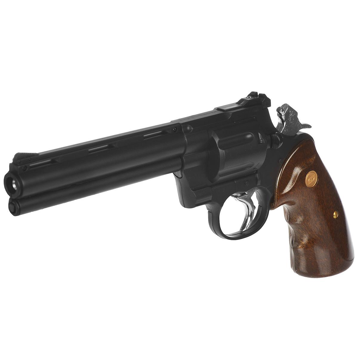 "ASG ASG ""Zastava R-357"" револьвер страйкбольный, 6 мм, цвет: Black (11542)"