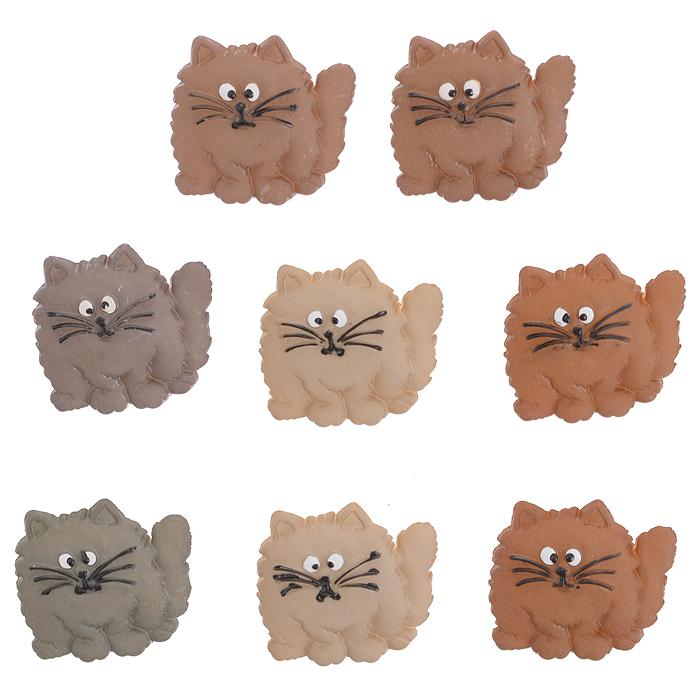 Пуговицы декоративные Dress It Up Толстая кошка, 8 шт. 7702326