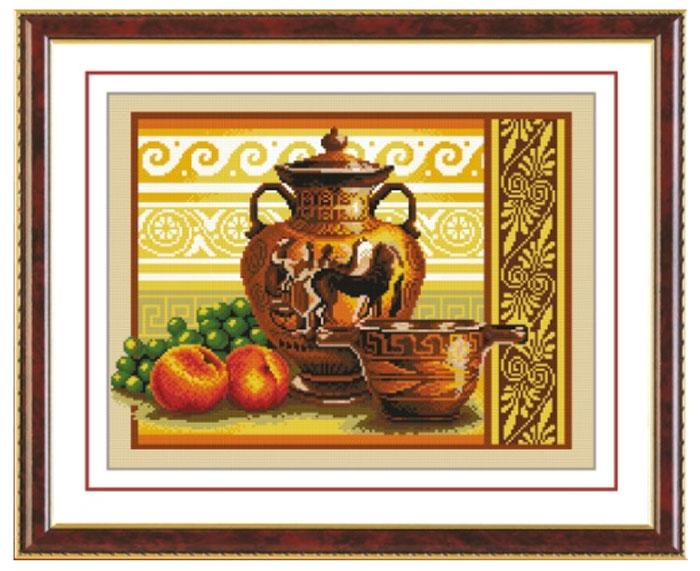Набор для вышивания крестом Hobby & Pro Античный натюрморт, 34 х 25 см S-0157705078