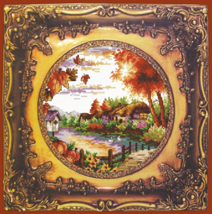 Набор для вышивания крестом Hobby & Pro Осень, 20 х 20 см S-0117705074