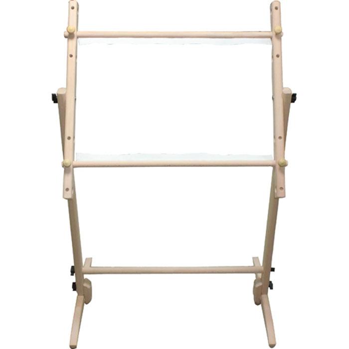 Пяльцы напольные Nurge Hobby для гобеленной вышивки, 60 x 60 см7707094Пяльцы напольные Nurge Hobby для гобеленной вышивки выполнены в виде деревянной рамы с напольной подставкой. Сборная рамка-пяльцы очень удобна для работы на канве большого размера. Канва крепится на раме с двух сторон - сверху и снизу. С помощью этих пяльцев вы сможете еще лучше вышивать ваши работы, которые невозможно или неудобно зажимать в обычных круглых пяльцах. Пяльцы идеально отполированы, очень прочные и доставляют истинное наслаждение в работе.