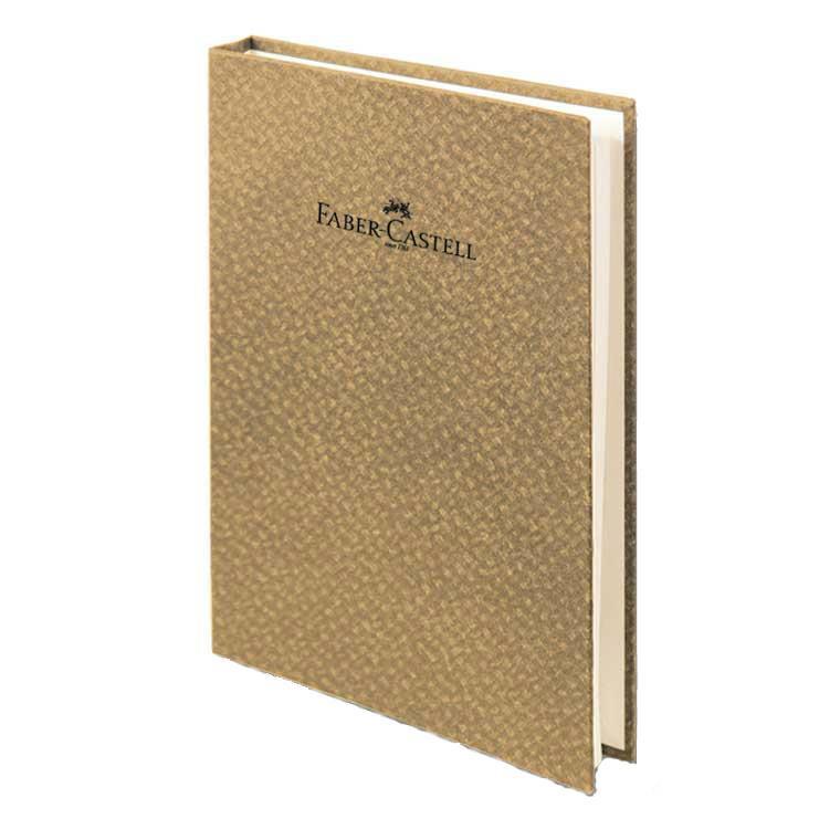 """Faber-Castell Блокнот со спиралью, серия """"Бамбук"""", формат А6, 100 стр, светло-коричневый, в линейку 400801"""