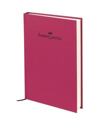 "Faber-Castell Блокнот, серия ""Natural"", формат А6, 100 стр. темно-бордовый, в клетку 400705"