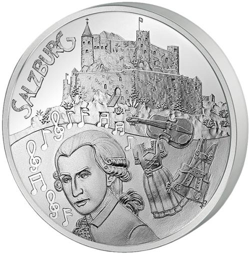 Монета номиналом 10 евро Зальцбург, в буклете. Австрия, 2014 год1806-1808**Монета номиналом 10 евро Зальцбург, в буклете. Австрия, 2014 год Диаметр: 32 мм Вес: 16 гр. Гурт: рубчатый Сохранность: очень хорошая Качество печати: Proof Размер буклета: 18 х 10 см