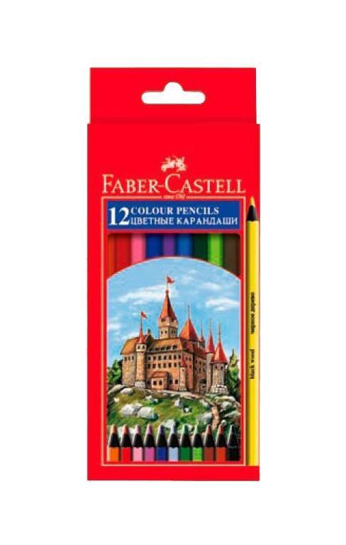 Цветные карандаши COLOUR PENCILS, набор цветов в картонной коробке, 12 шт.115808Набор цветных карандашей Faber Castell Colour Pencils 115808 предназначен для рисования на бумаге ярких и насыщенных картин. С его помощью вы сможете изобразить самые выразительные изображения. Набор изготовлен из высококачественной древесины по всем техническим условиям. Вид карандаша: цветной. Материал: дерево.