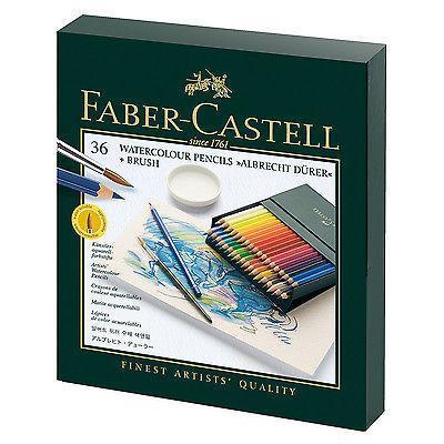 Акварельные карандаши ALBRECHT DURER®, набор цветов, в студийной (кожзам) коробке , 36 шт.117538Вид карандаша: Акварельный. Материал: дерево.