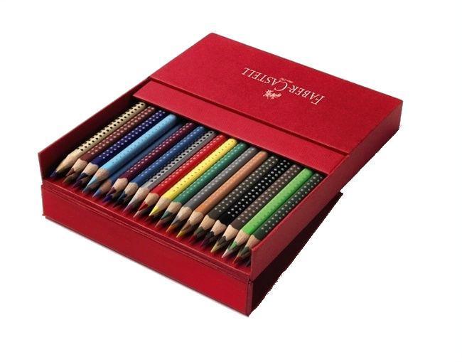 Цветные карандаши GRIP 2001, набор цветов, в студийной (кожзам) коробке, 36 шт.112436Вид карандаша: цветной. Материал: дерево.