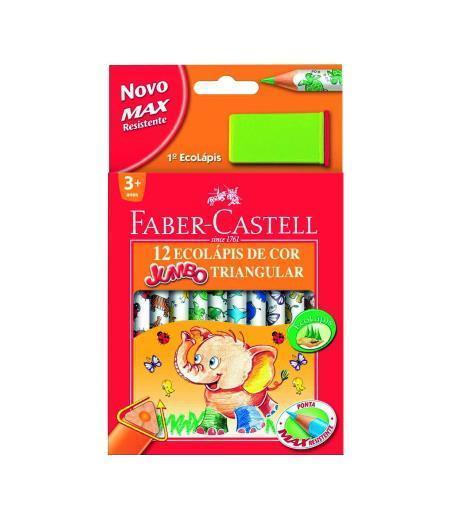 Цветные карандаши JUMBO TRIANGULAR с точилкой,набор цветов, в картонной коробке, 12 шт.116550Вид карандаша: цветной. Особенности: С точилкой. Материал: дерево.