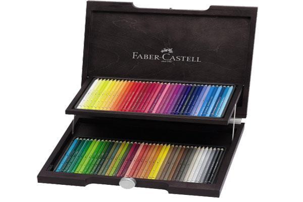 Художественный набор с акварельными карандашами ALBRECHT DURER®, набор цветов, в деревянном пенале, 72 шт.117572Вид карандаша: Акварельный. Материал: дерево.