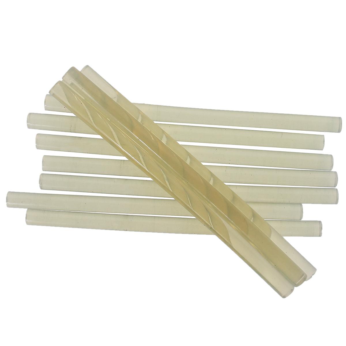 Стержни клеевые FIT, 11 мм х 200 мм, 25 шт14425Клеевые стержни FIT предназначены для клеевых пистолетов 14330, 14336, 14340, 14350, 14355, 14360. Применяются для склеивания различных синтетических материалов, дерева, линолеума, бумаги, керамики, кафельной плитки. Материал: этиленвинилацетат. Комплектация: 25 шт. Диаметр: 11 мм. Длина: 200 мм.