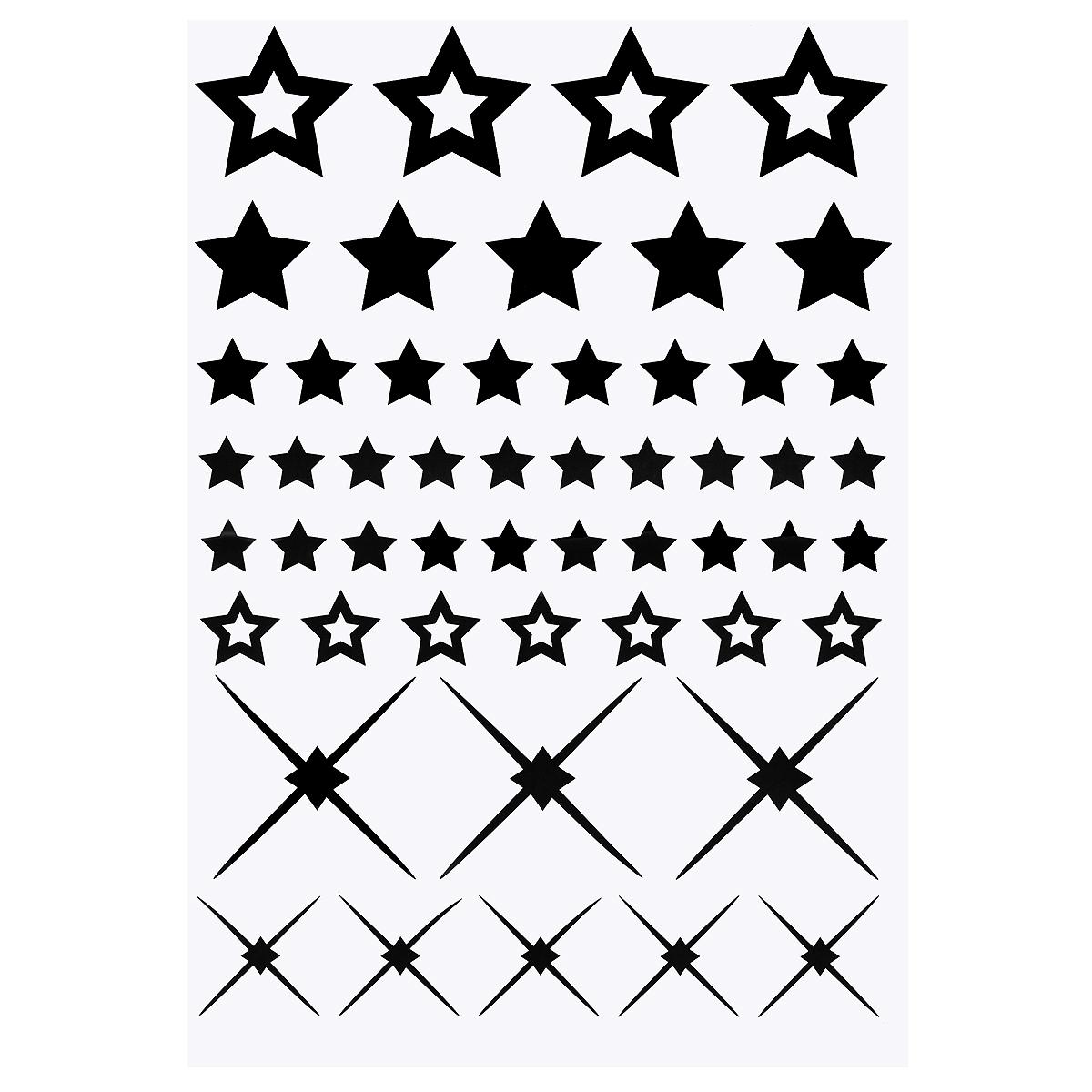 Стикер Paristic Звезды, 30 х 40 смПР00063Добавьте оригинальность вашему интерьеру с помощью необычного стикера Звезды. Изображение на стикере выполнено в виде нескольких звездочек различного размера. Изображения можно разделить и разместить в любых местах в выбранном вами помещении, создав тем самым необычную композицию. Необыкновенный всплеск эмоций в дизайнерском решении создаст утонченную и изысканную атмосферу не только спальни, гостиной или детской комнаты, но и даже офиса. Стикер выполнен из матового винила - тонкого эластичного материала, который хорошо прилегает к любым гладким и чистым поверхностям, легко моется и держится до семи лет, не оставляя следов. Сегодня виниловые наклейки пользуются большой популярностью среди декораторов по всему миру, а на российском рынке товаров для декорирования интерьеров - являются новинкой. Paristic - это стикеры высокого качества. Художественно выполненные стикеры, создающие эффект обмана зрения, дают необычную возможность использовать в...