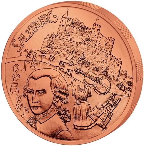 Монета номиналом 10 евро Зальцбург. Австрия, 2014 год656Монета номиналом 10 евро Зальцбург. Австрия, 2014 год Металл: Cu (Медь) Диаметр: 32,0 мм Масса: 17,3 г Состояние: UNC (без обращения)