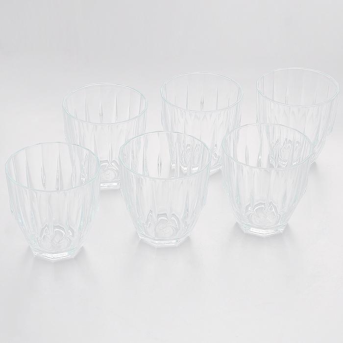 Набор стаканов Pasabahce Diamond, 275 мл, 6 шт52988Набор Pasabahce Diamond состоит из шести низких стаканов, изготовленных из прочного натрий-силикатного стекла. Изделия оснащены рельефными стенками и несомненно, придутся вам по душе. Стаканы предназначены для подачи сока, воды и других напитков. Предметы набора сочетают в себе элегантный дизайн и функциональность. Благодаря такому набору пить напитки будет еще вкуснее. Набор стаканов Pasabahce Diamond идеально подойдет для сервировки стола и станет отличным подарком к любому празднику. Можно мыть в посудомоечной машине.