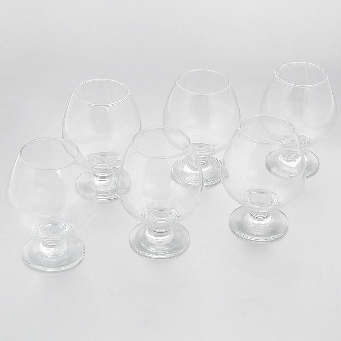 Набор бокалов для коньяка Pasabahce Bistro, 400 мл, 6 шт44188BНабор Pasabahce Bistro состоит из шести бокалов на ножке, изготовленных из прочного натрий-силикатного стекла. Изделия, предназначенные для подачи конька, несомненно придутся вам по душе. Бокалы сочетают в себе элегантный дизайн и функциональность. Благодаря такому набору пить напитки будет еще вкуснее. Набор бокалов Pasabahce Bistro идеально подойдет для сервировки стола и станет отличным подарком к любому празднику. Можно мыть в посудомоечной машине.