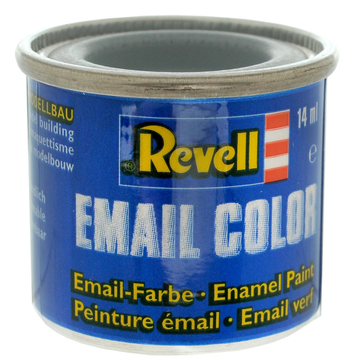 Revell Краска для моделей матовая №76 цвет светло-серый 14 мл32176Матовая краска Revell светло-серого цвета широко используется для окраски сборных моделей машин, кораблей и самолетов. После полного высыхания базового покрытия можно наносить узор с помощью других цветных красок. Краска упакована в металлическую баночку, плотно закрывающуюся крышкой, что позволяет избежать высыхания краски. Объем краски: 14 мл.