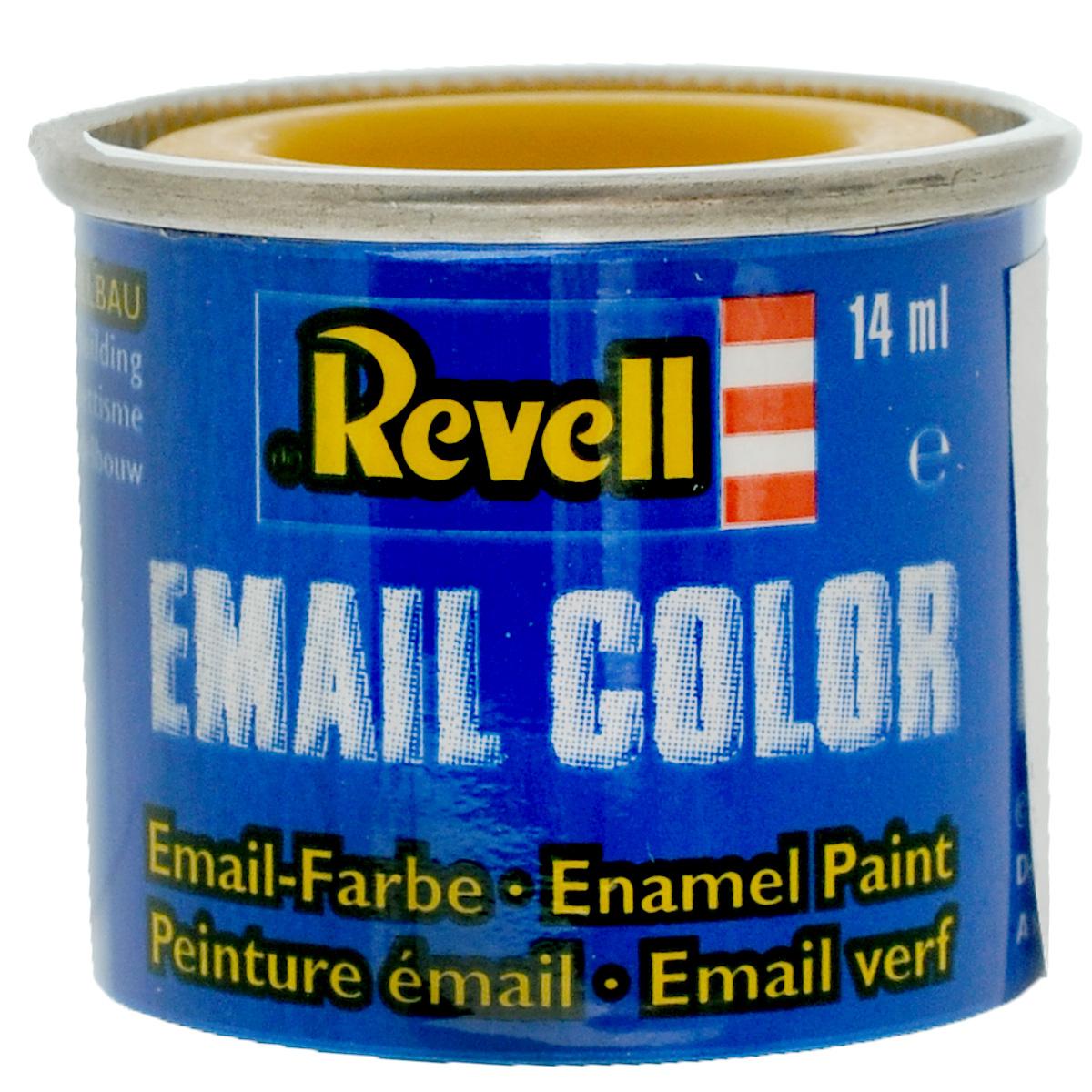 Revell Краска для моделей матовая №15 цвет желтый 14 мл32115/РАЛ 1017Матовая краска Revell желтого цвета широко используется для окраски сборных моделей машин, кораблей и самолетов. После полного высыхания базового покрытия можно наносить узор с помощью других цветных красок. Краска упакована в металлическую баночку, плотно закрывающуюся крышкой, что позволяет избежать высыхания краски. Объем краски: 14 мл.