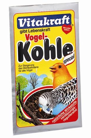 Уголь древесный для птиц Vitakraft Khole, 10 г11112Кормовая добавка Vitakraft Khole из натуральных активных веществ для здоровья и благополучия птиц. Состав: натуральный древесный уголь. Добавлять 2-3 раза в месяц маленькую щепотку в корм. Товар сертифицирован.