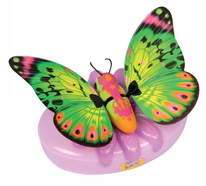 Moose Интерактивная игрушка Little live Pets: Бабочка Лимонницаlimonniica/ast28002Интерактивная игрушка Moose Little Live Pets: Бабочка Лимонница несомненно понравится вашей малышке. Она выполнена из качественных материалов в виде прелестной бабочки, которая выглядит совсем как настоящая. В руках ребенка она сразу оживет! Бабочка умеет махать крылышками - играя с ней, ребенок услышит звуки хлопающих крыльев. Благодаря специальной присоске бабочка может сидеть не только на руке, но и на окне или любой гладкой поверхности. Игрушка подзаряжается с помощью яркого аккумулятора, оформленного блестящим цветком. В комплект также входят присоска и аккумулятор. Ваш ребенок будет в восторге от такого подарка! Необходимо докупить 2 батарейки напряжением 1,5V типа АА (не входят в комплект).